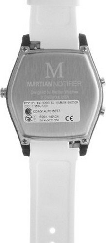 Martian Watches Notifier Smartwatch - White
