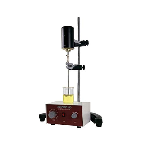 Fristaden Lab Overhead Stirrer 20L Heavy Duty 3000 RPM 60W Electric Mixer Overhead Stirrer for Lab and Industrial Use Adjustable Height 20L Capacity ()