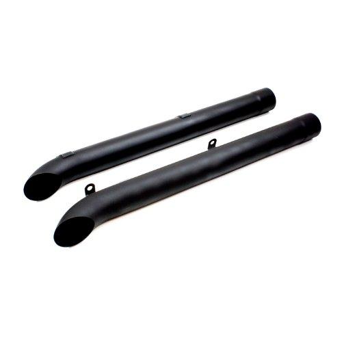 - Doug's Headers D930-B Black Sidemount Exhaust Side Tube