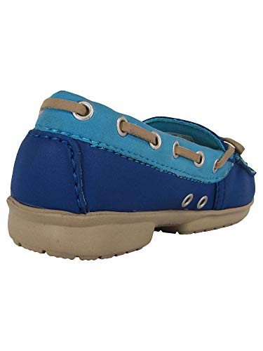 Mujer cerulean Blu Blue Para Loafer Mocasines Wrap Crocs bluebell Colorlite 0qXw4