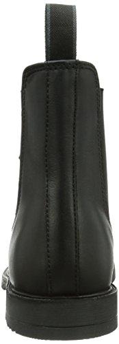 Leder Zapatillas Equitación De Negro Kerbl Schwarz 44 cuero de Reitstiefelette unisex Classic Gr T5wqUF5