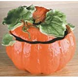 Home Gourmet Collection Large Ceramic Pumpkin Soup Tureen
