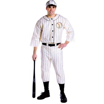Baseball Player Uniform and Hat