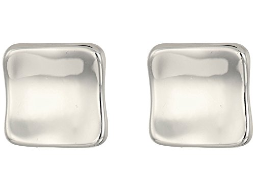 Silver Clip Earrings - Robert Lee Morris