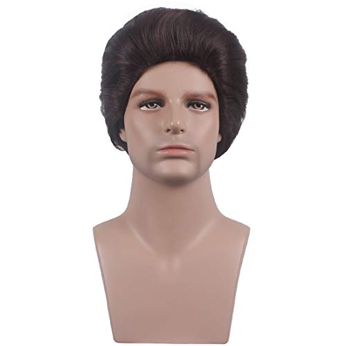 WildCos Short Brown Layered Hairs Cosplay Wig for -