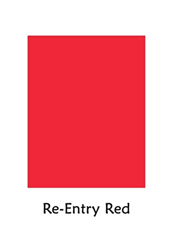 - Premium Color Card Stock Paper | 50 Per Pack | Superior Thick 65-lb Cardstock, Perfect for School Supplies, Holiday Crafting, Arts and Crafts | Acid & Lignin Free | Re-Entry Red | 8.5 x 11