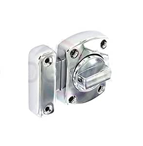Chrome Plated - Bathroom Door Lock Cabinet Cupboard Door ...