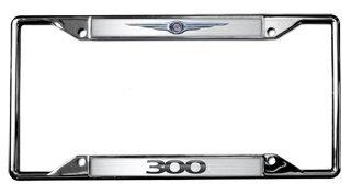 Chrysler Logo 300 License Plate Frame (Plate License Chrysler Frame)