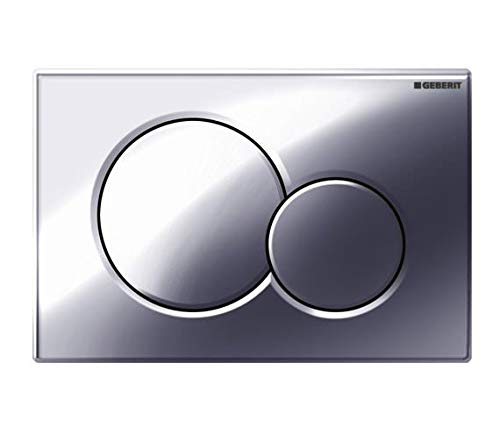 Geberit 115.770.21.5 Samba Dual Flush Actuator Chrome by Geberit