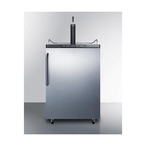 Summit SBC635MBISSTB Wine Dispenser, Stainless-Steel by Summit Appliance