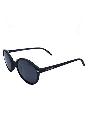 taille Black Noires unique Homme Duke de Vesca Lunettes soleil matte Northweek Noir black 4PfwqfT