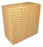 Industrial Grade 4KCA2 Cooling Pad, Kraft Paper, 29 3/4x40x8