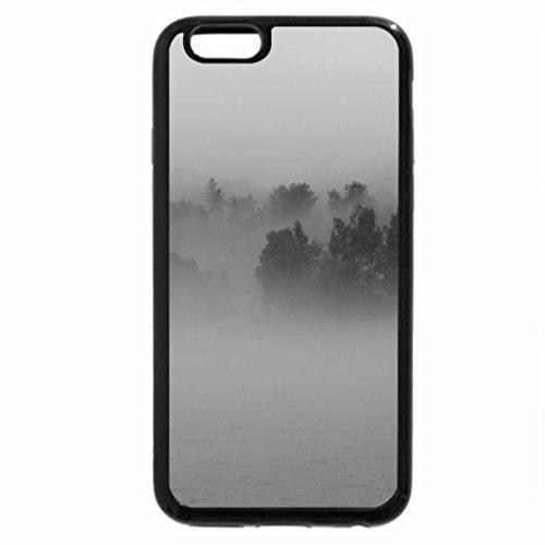 iPhone 6S Plus Case, iPhone 6 Plus Case (Black & White) - Fog rolling in
