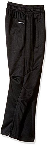adidas Youth Soccer Tiro 17 Pants, Small - Black/White by adidas (Image #2)
