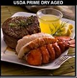 Surf & Turf - USDA Prime Dry Aged Bone-In Filet Mignons or NY Strips - Choose your Quanitity and Size Fresh to your Door - Chicago Steak Company