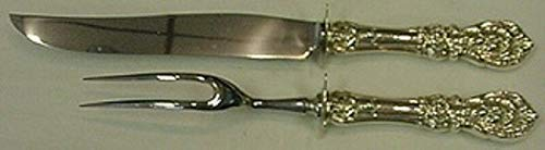 - Francis I by Reed and Barton Sterling Silver Steak Carving Set 2pc