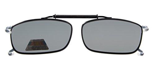 Metálica Clip Lente con Montura Gafas y Eyekepper Sol Polarizadas C63 gris de BH6xTY8
