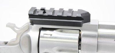(Weigand Combat RUGER Revolver Mini Scope Mount - Black)