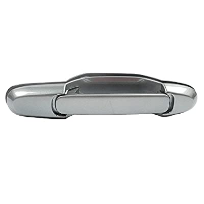 MotorKing B625 Door Handle (98-03 Toyota Sienna Outside Rear Left Rear Right Silver 6M3): Automotive