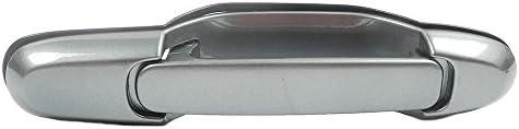 98-03 Toyota Sienna Outside Rear Left Rear Right Silver 6M3 MotorKing B625 Door Handle