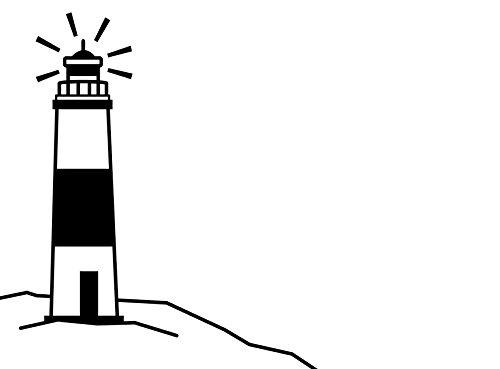 Darice 1217-47 Embossing Folder, 4.25 x 5.75, Lighthouse Design 4.25 x 5.75