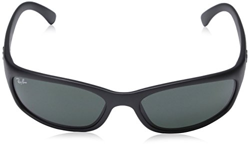 f22ded6f1e0f Amazon.com  New Authentic Ray-Ban Active Lifestyle RB 4115 601S 71 57mm  Matte Black   Green Small  Shoes