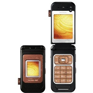 Nokia 7390 Tri Band Bronze Unlocked GSM Cellular Phone