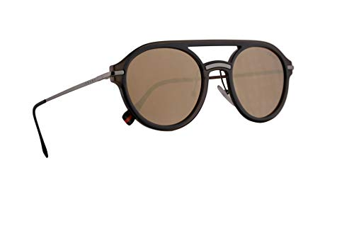 Prada PS05TS Sunglasses Brown w/Dark Brown Mirror Gold Lens 51mm 5N9HD0 PS 05TS SPS 05T - Lens Prada Brown