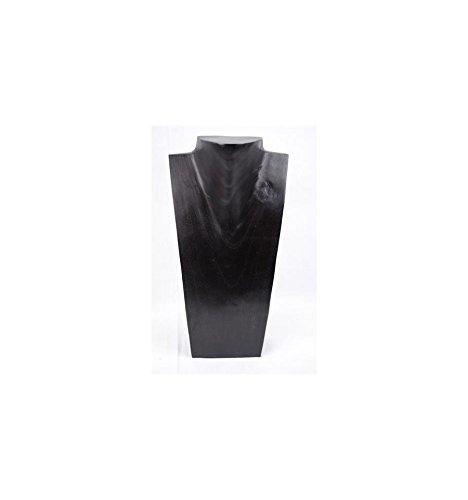 Busto espositore per collane, in legno massiccio, altezza: 35 cm Artisanal