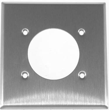 Cooper Wiring Devices 93227-BOX Wallplate 2G Sgl Recp 2.1563