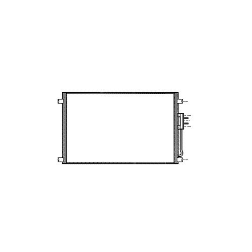 VAN WEZEL 07005079 Kondensator Klimaanlage