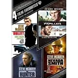 Steve McQueen 4 Film Favorites Bullitt / Papillon / The Hunter / Nevada Smith (Includes UltraViolet Digital Copy) -  DVD, Rated PG