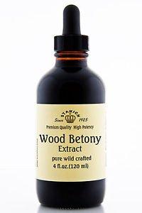 Безалкогольное 4 Oz Wood Betony Экстракт качества чистые травяные настойки Wild сработанный Любовь Ваша кожа Быстрая доставка Ship Worldwide
