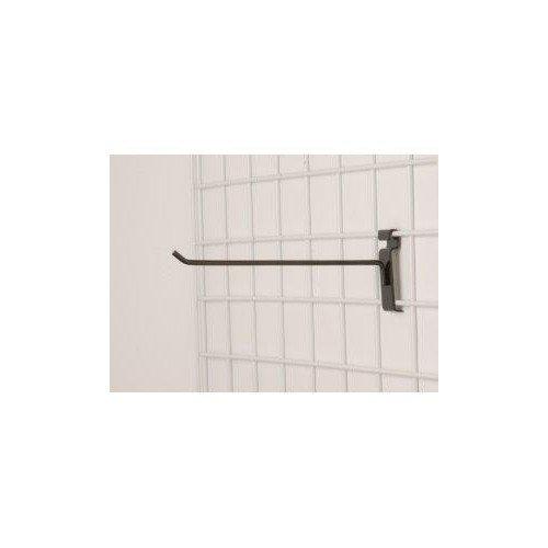 Lot of 50 New Retails Black 12 In Long Grid Peg Hooks fits Grid Panel