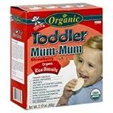 Hot-Kid Toddler Mum-Mum Rice Biscuits, Organic, Strawberry, 2.12 oz, (pack of 12)