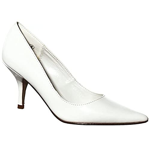 new Women's Classic Formal Pointy Toe Low-Mid Heeled Pumps hot sale