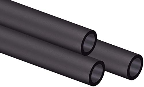 Corsair Hydro X Series, XT Hardline Satin 14 mm Tubing (Straight-Line PMMA Tubing, Resilient Construction, Easy to Cut) Black