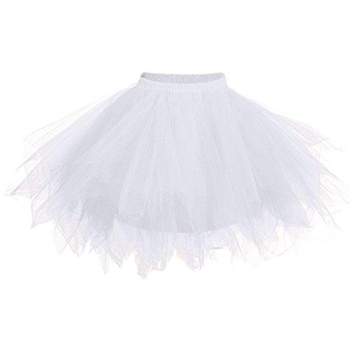 (Big Girls Tutu Skirts Layered Tulle Princess Dresses Sparkle Halloween Tutu)