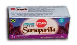 Tops Jamaican Sarsaparilla Herbal Tea (pack of 3) (Sarsaparilla Jamaican Root)