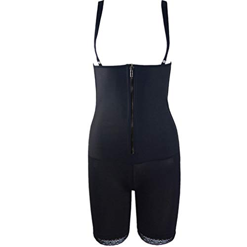 Women Sexy Shapewear Body Slimming Cinchers Underbust Butt Lifter Thigh Corset Powernet (Slip Powernet Lace Corset)