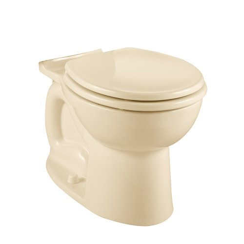 American Standard 3014.016.021 Cadet-3 Elongated Toilet Bowl with Bolt Caps, Bone (Bowl Only) by American Standard