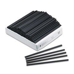 ** Slide 'N Grip Binding Bars, Black, 11 x 1/4, 100/Box
