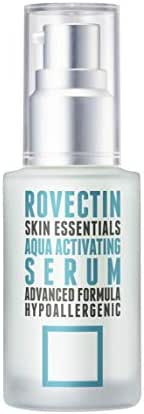 Rovectin Aqua Activating Serum - Anti-Aging Moisturizing Serum with Hyaluronic Acid for Hydration and Niacinamide for Sensitive Skin (1.2 fl.oz, 35 ml)