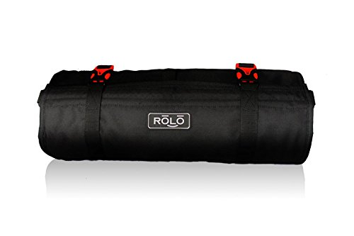 (Rolo Adventures LLC | Portable Roll-Up Travel Bag, Black, 1)
