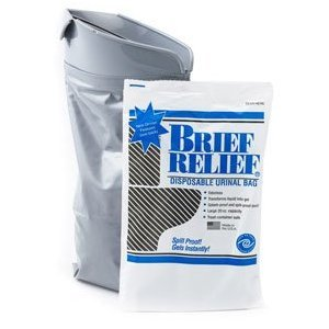 BRIEF RELIEF DISPOSA-JOHN PACK OF 10