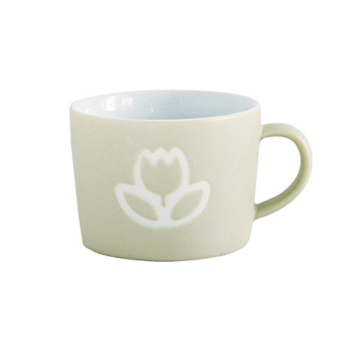 (Time Concept Kids Petits Et Maman Ceramic Mug - Flower - Reusable Home/Party Starter Drinking)