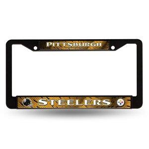 Rico NFL Steelers EZ View Chrome Frame, Black, 15 x 8