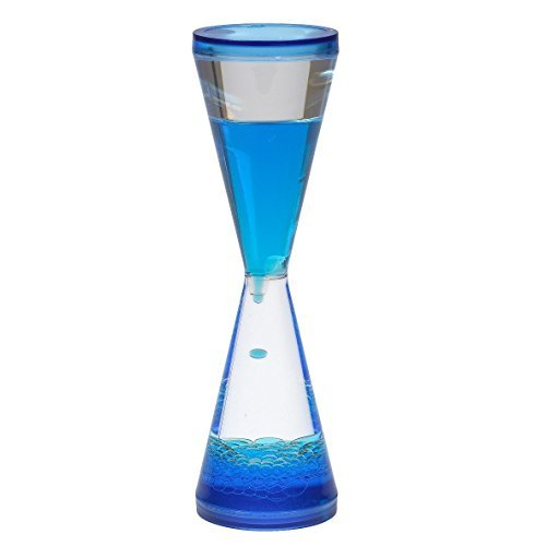 Goblet Hourglass Liquid Timer Visual Sensory Imput Autism Special Needs OT by WFT by Unspecified