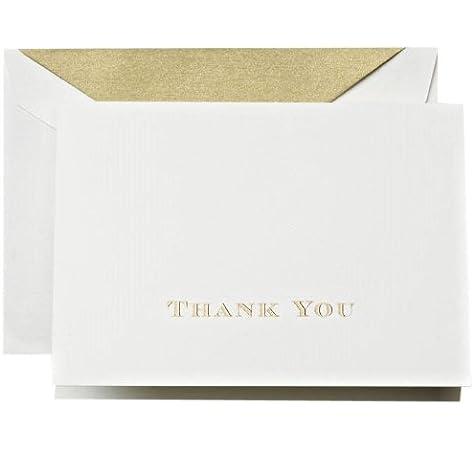 Crane /& Co CT6301 Round Corner Thank You Cards 2