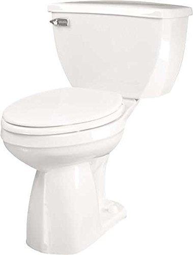 Gerber Ultra Flush Elongated Siphon Jet Toilet Bowl, White, 17 in, 1.6 Gpf
